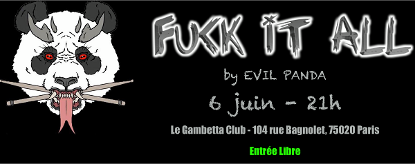 Evil Panda en concert au Gambetta Club, nous y étions !