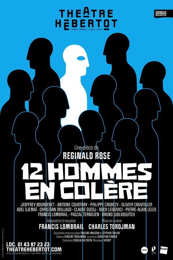 « 12 Hommes En Colère » au Théâtre Hébertot, nous y étions !