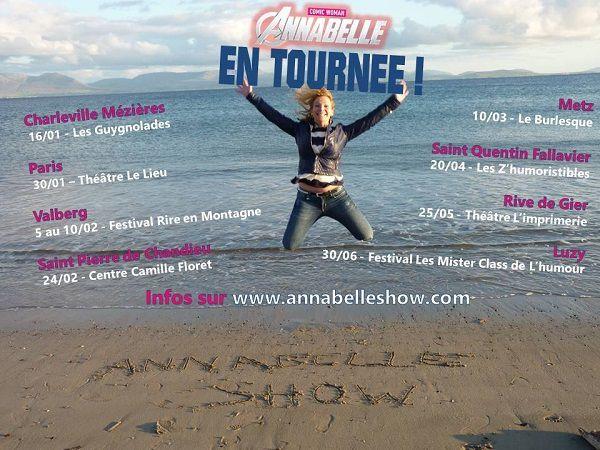 Annabelle dans « Comic Woman » au Théâtre Le Lieu, nous y étions !