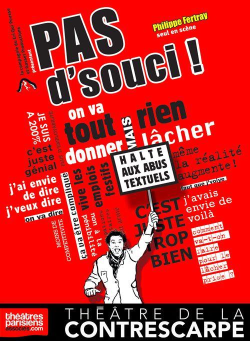 « Pas D'Souci ! » au Théâtre de la Contrescarpe, nous y étions !