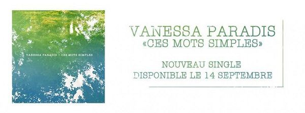 Vanessa Paradis est de retour avec un nouveau titre !