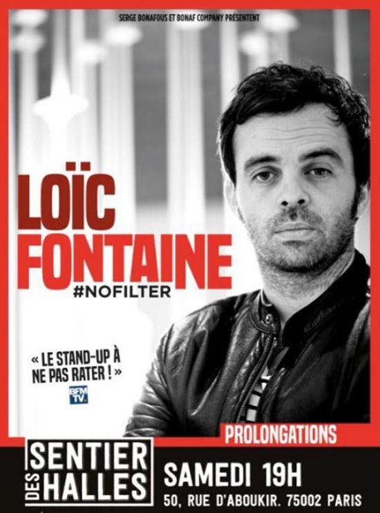 Loïc Fontaine dans « #No Filter » au Sentier Des Halles, nous y étions !
