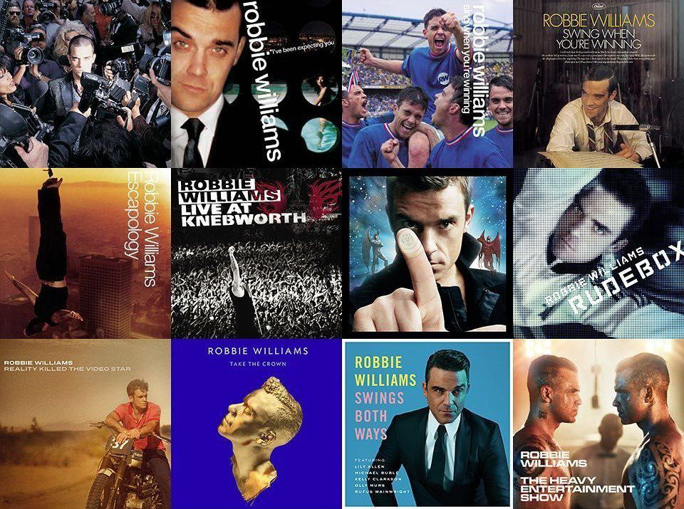 100 % Robbie Williams !