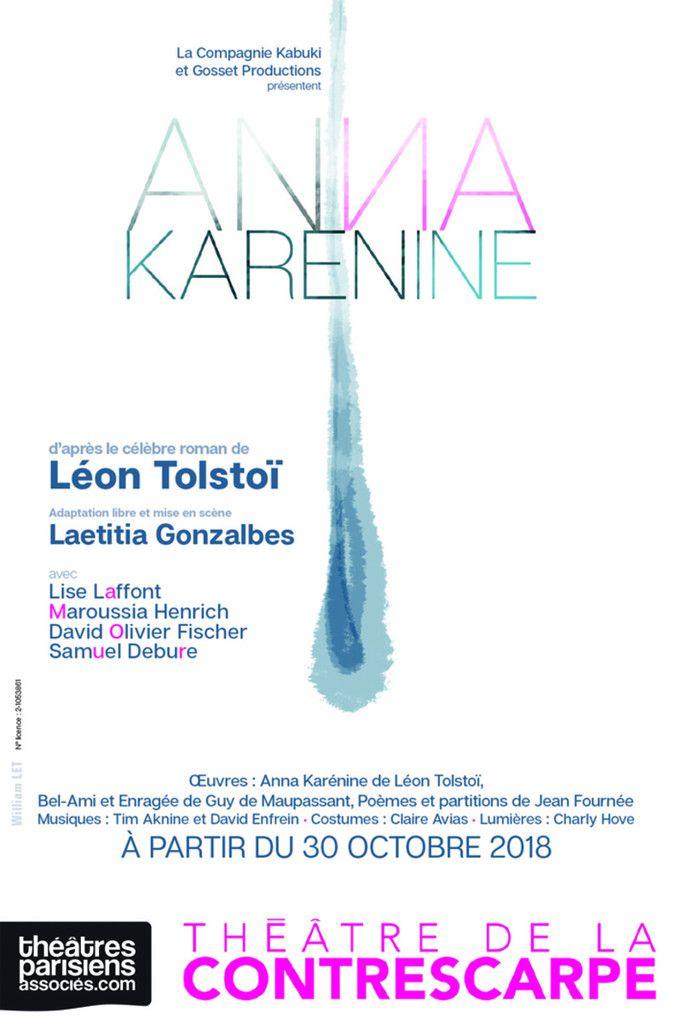 « Anna Karénine » au Théâtre de la Contrescarpe, nous y étions !