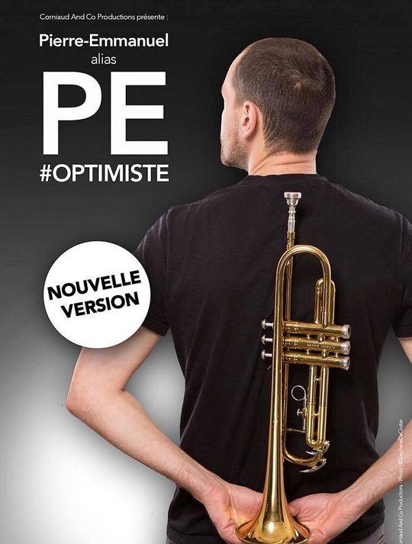 Pierre-Emmanuel alias PE dans « #Optimiste » au Théâtre Des Mathurins, nous y étions !