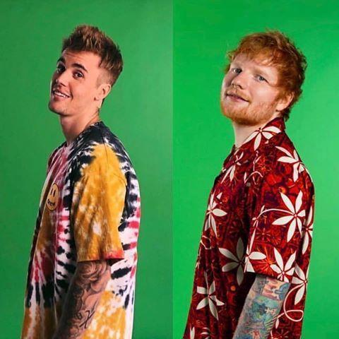 Le duo Ed Sheeran et Justin Bieber cartonne !