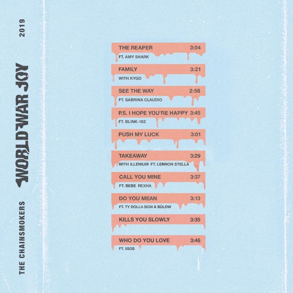 Nous avons écouté le nouvel album de The Chainsmokers !