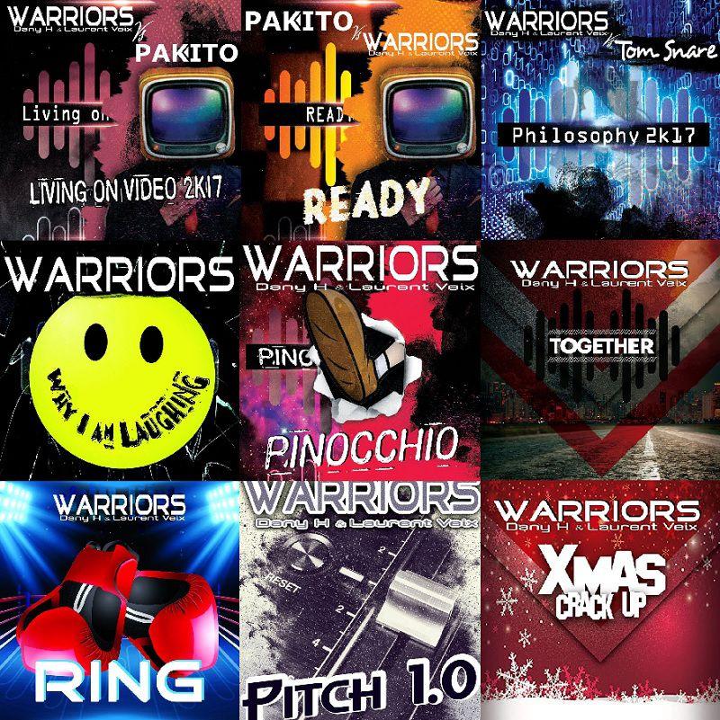 Apprenez en plus sur Warriors (Dany H & Laurent Veix) à l'occasion de la sortie de « Fluxland » !