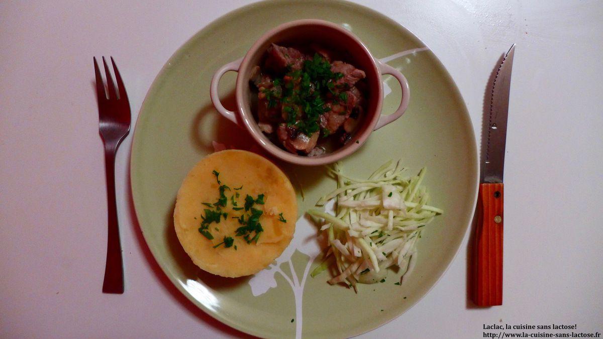 Repas d'un soir #16 : Filet mignon sauté au vin blanc et champignons!