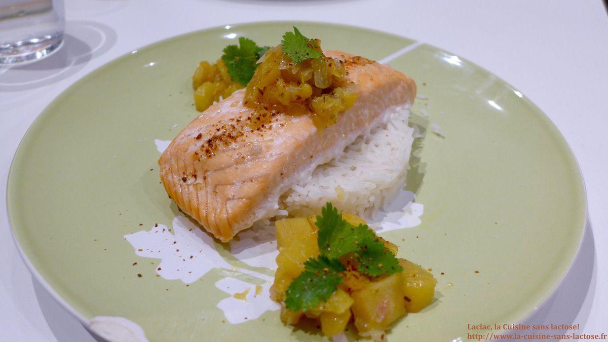 Repas d'un Soir #25 : Filet de Saumon Rôti et Compotée d'Ananas!