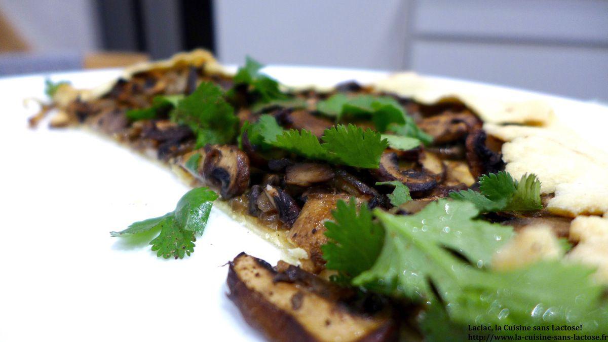 Repas d'un Soir #29 : Tarte Flemmarde (ou  Rustique) aux Champignons!