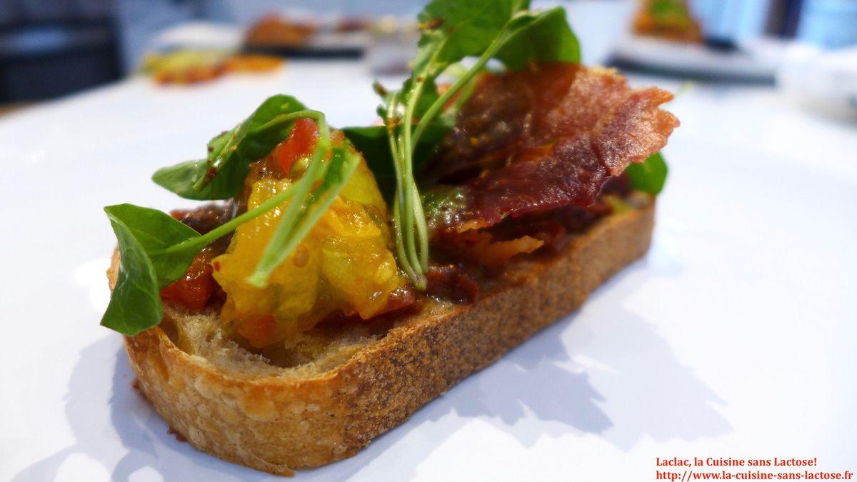 Repas d'un Soir #32 : Tartines aux Trois Tomates, Jambon de Bayonne!