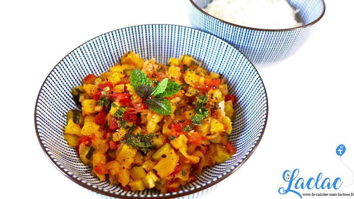 Repas d'un soir #39 : Poêlée d'Ananas, Tomates et Courgettes!