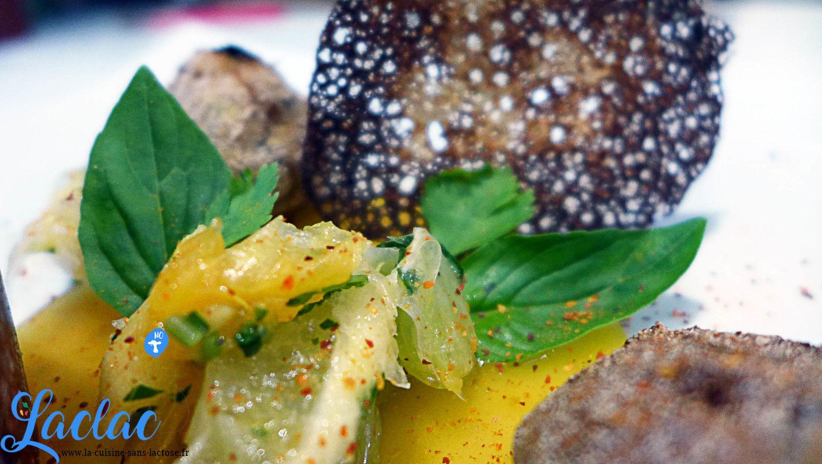 Agrumes en Salade et en Gelée, Croquettes de Cabillaud Amères ! (JLCTC20 #16)