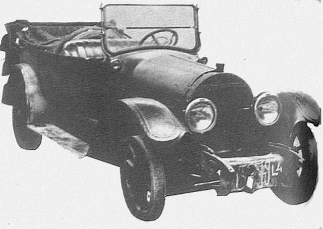 La Cadillac de Seznec.