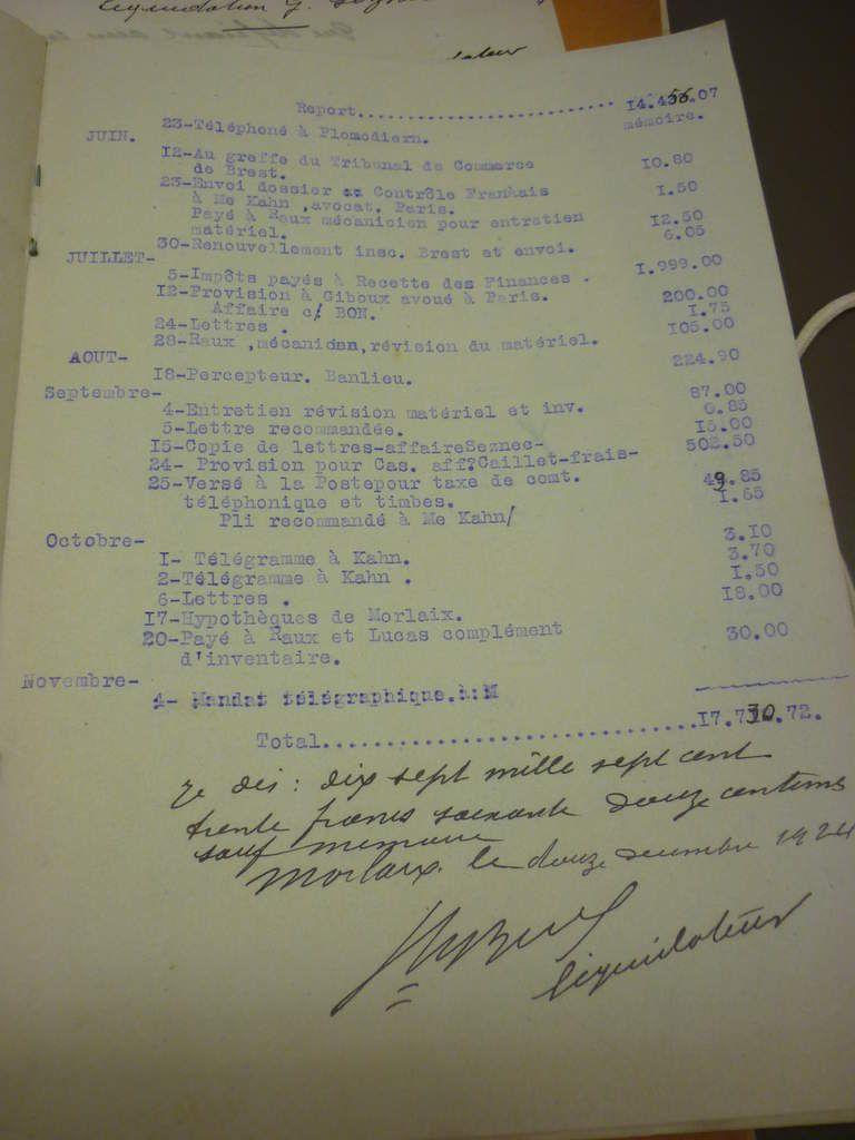 Inventaire Liquidation Seznec 3.