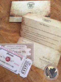 Son Anniversaire Harry Potter La Lettre D Invitation Autisme