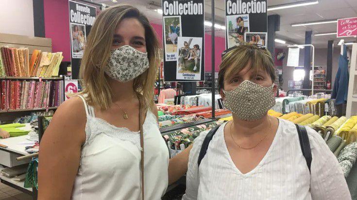 uand le masque de protection devient un accessoire de mode