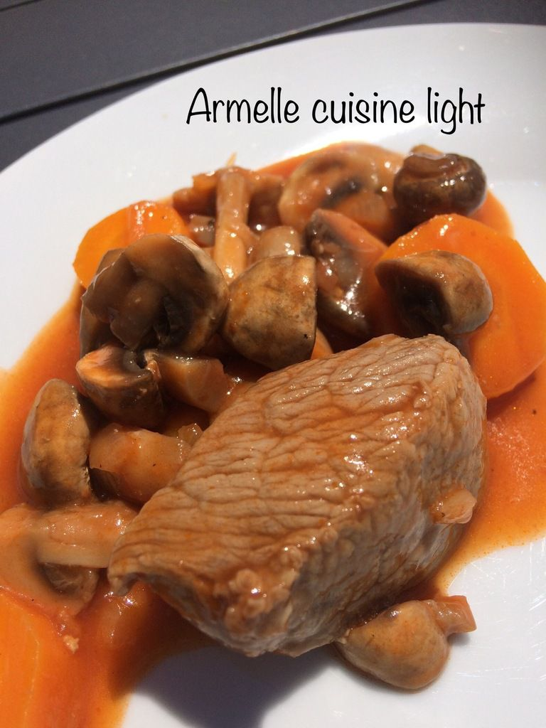 Sauté de veau marengo au companion - Armelle cuisine facile