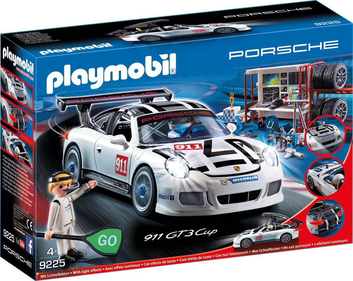 porsche playmobil 911 gt3 cup playmobil 9225 le blog des. Black Bedroom Furniture Sets. Home Design Ideas