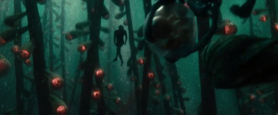 """Jor-El swims into the Genesis Chamber, how is the scene introduced ? A baby is given birth in front of our eyes. This baby could have been Superman, there was absolutely no need for a """"secret baby."""" And also, doesn't this scene gives the feeling that he is aborting all the foetuses by taking the Codex ? Because, at the end of the day he is, and he knows he is even if we don't at the moment of the scene."""