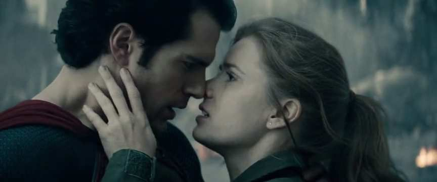 That kiss in Man of Steel is quite strange too. Partly because they've waited too long ? Like... Superman is an alien, maybe they don't kiss on Krypton. Maybe they just look at each other intensely.