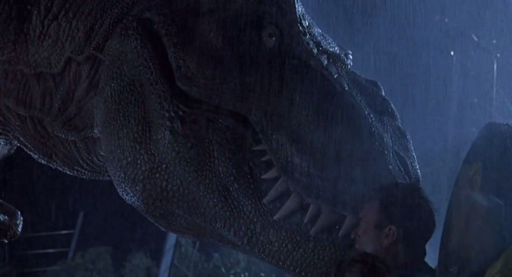 Jurassic Park : T-Rex doesn't Need Glasses (1200 words)