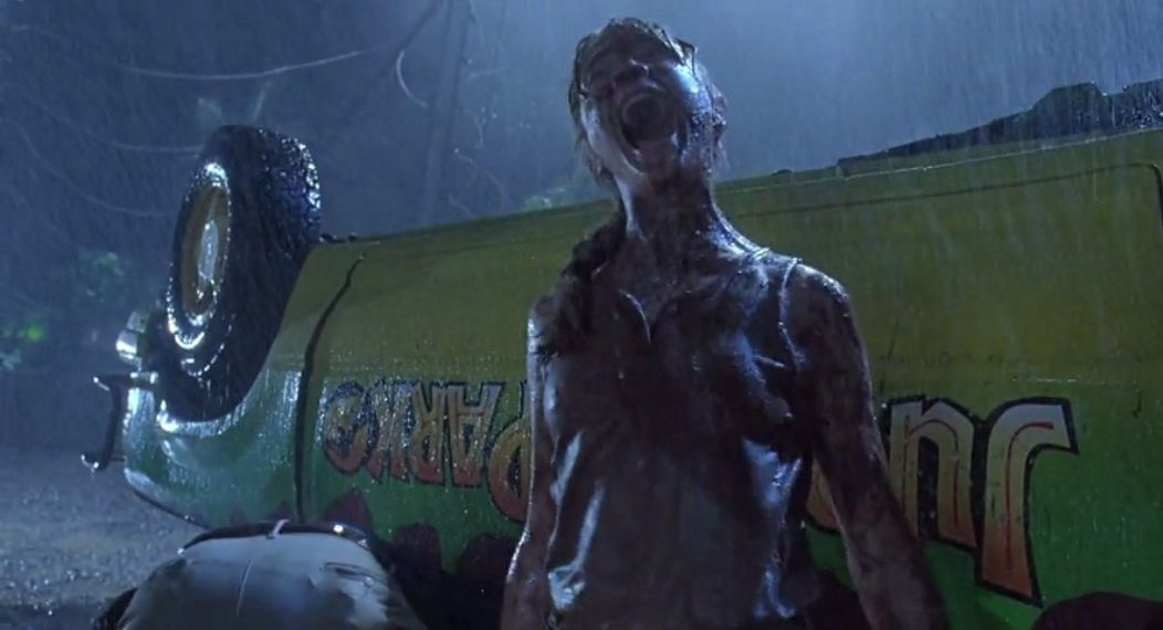 Lex always dreamed of being eaten by a T-Rex but that selfish Alan Grant deprived her of this nice experience.