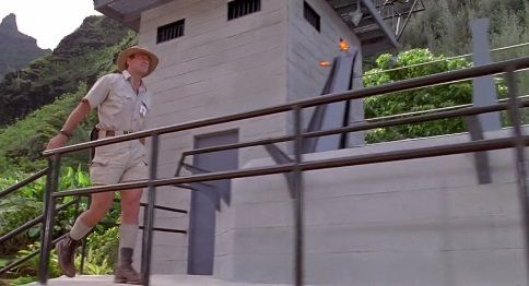 """Robert Muldoon is homosexual. He is a consequence of John Hammond's creations. And here homosexuality is used as """"no possible intercourse with a woman even in order to procreate."""""""