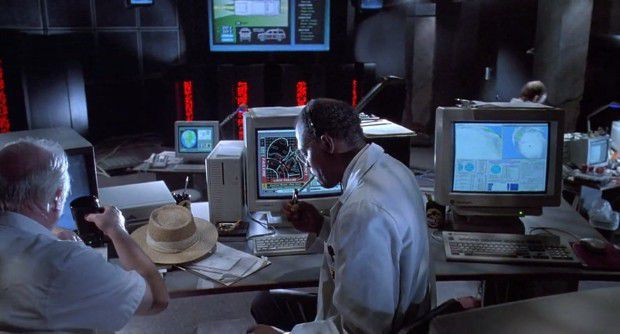 « well, Nedry said a few system would go off line didn't he ? » John Hammond is not aware of the fact that he perfectly trusts Nedry.