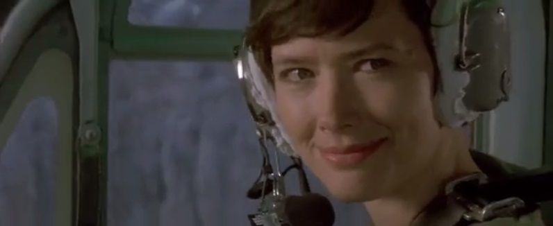 In Cliffhanger, Jess has short hair. So, who's gay ?