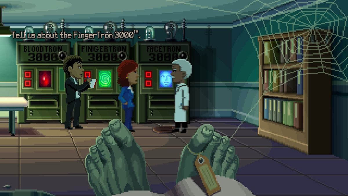 Thimbleweed Park : Is the coroner truly the sheriff or what ?