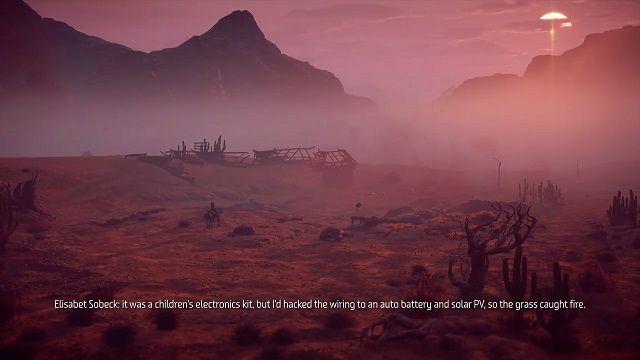 Horizon Zero Dawn: Elisabet Sobeck is a Genocidal Maniac (1300 words)
