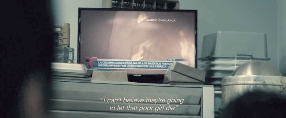 A hopeless girl who is going to die burnt alive, on TV, on the day of the dead. That's perfect publicity for... Godman !