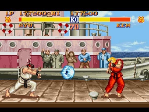 Street Fighter II : Stating the Obvious, on a Sexual Level (800 mots)
