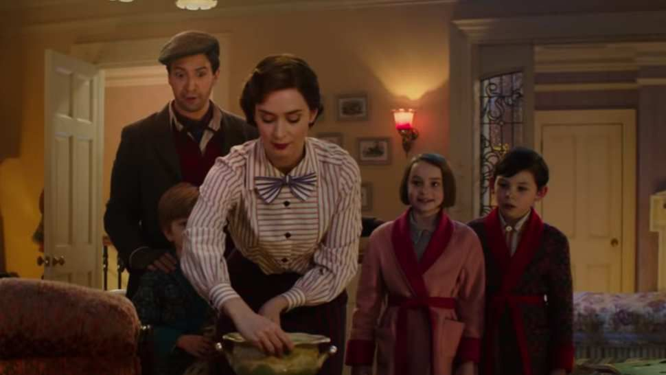 Mary Poppins Returns : Mary Poppins Somewhat Failed (1900 words)