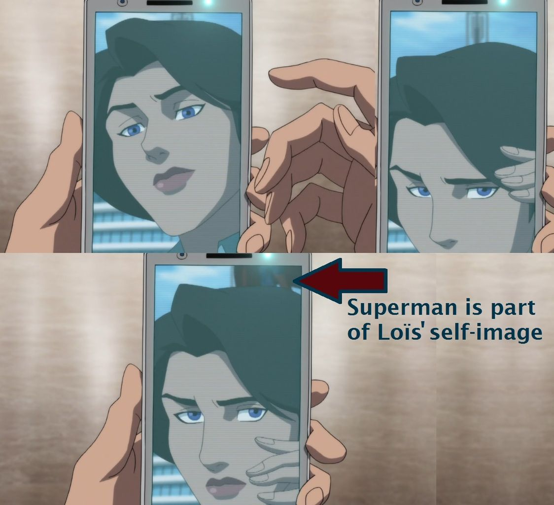 The Death of Superman : Loïs Perfectly Knows That Clark Is Superman, part 2 (2800 words)