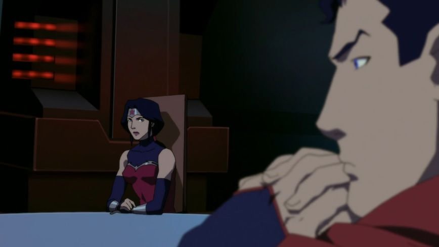 She knows that Lois is only pretending not to know that Clark is Superman.