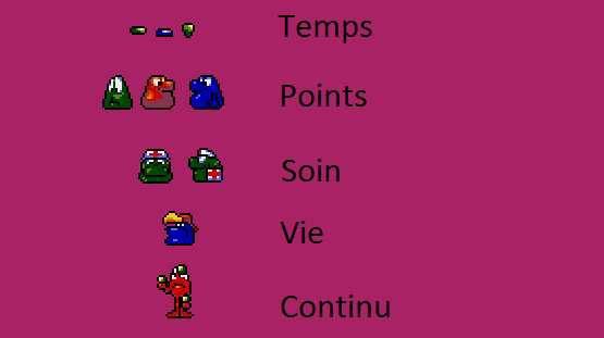 Bubba'n'Stix :  Petit guide des niveaux Bonus sur Amiga 500