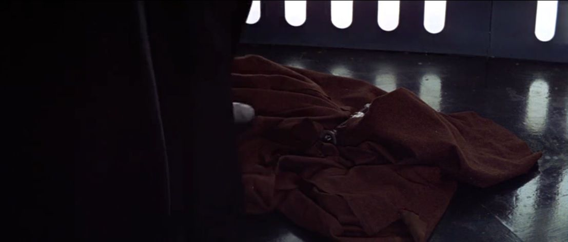 Star Wars A New Hope : Obiwan Faked his Death in Order to Manipulate Luke. (700 words).
