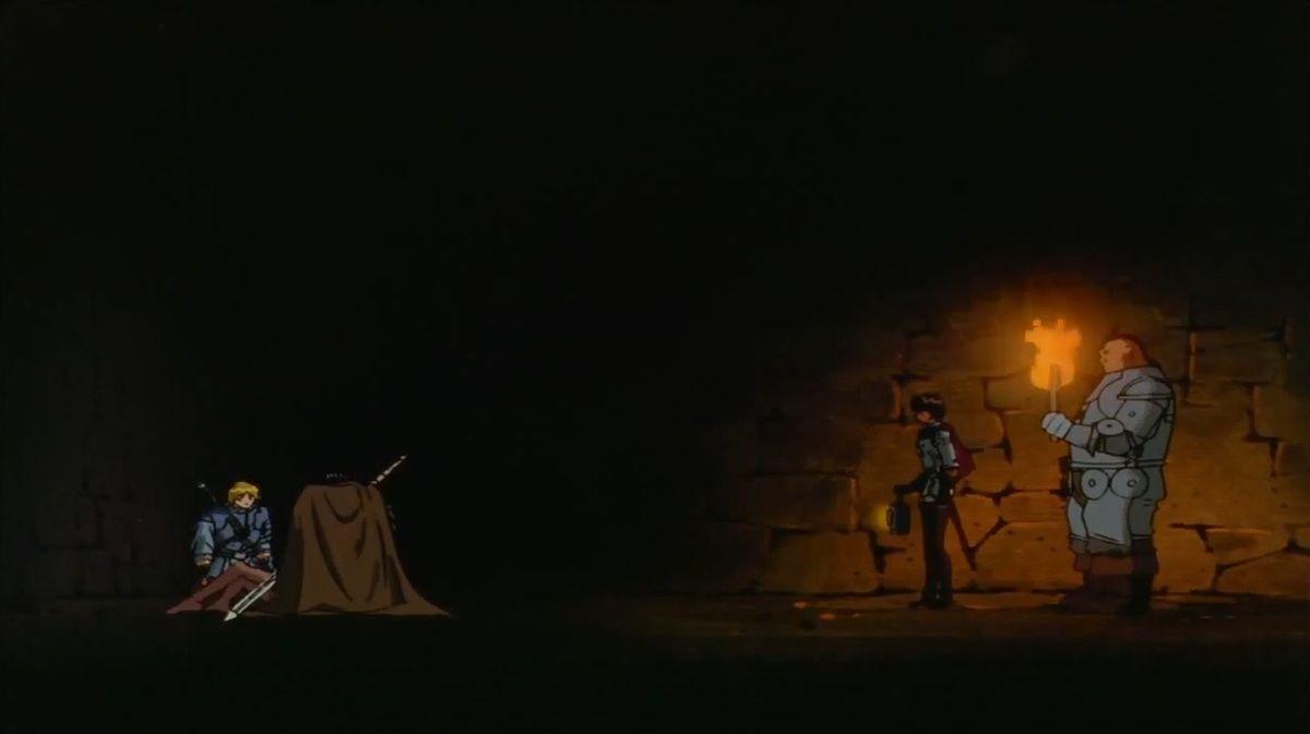 Berserk 1997 Last Episode: A Metaphore for mental collapse (2900 words)