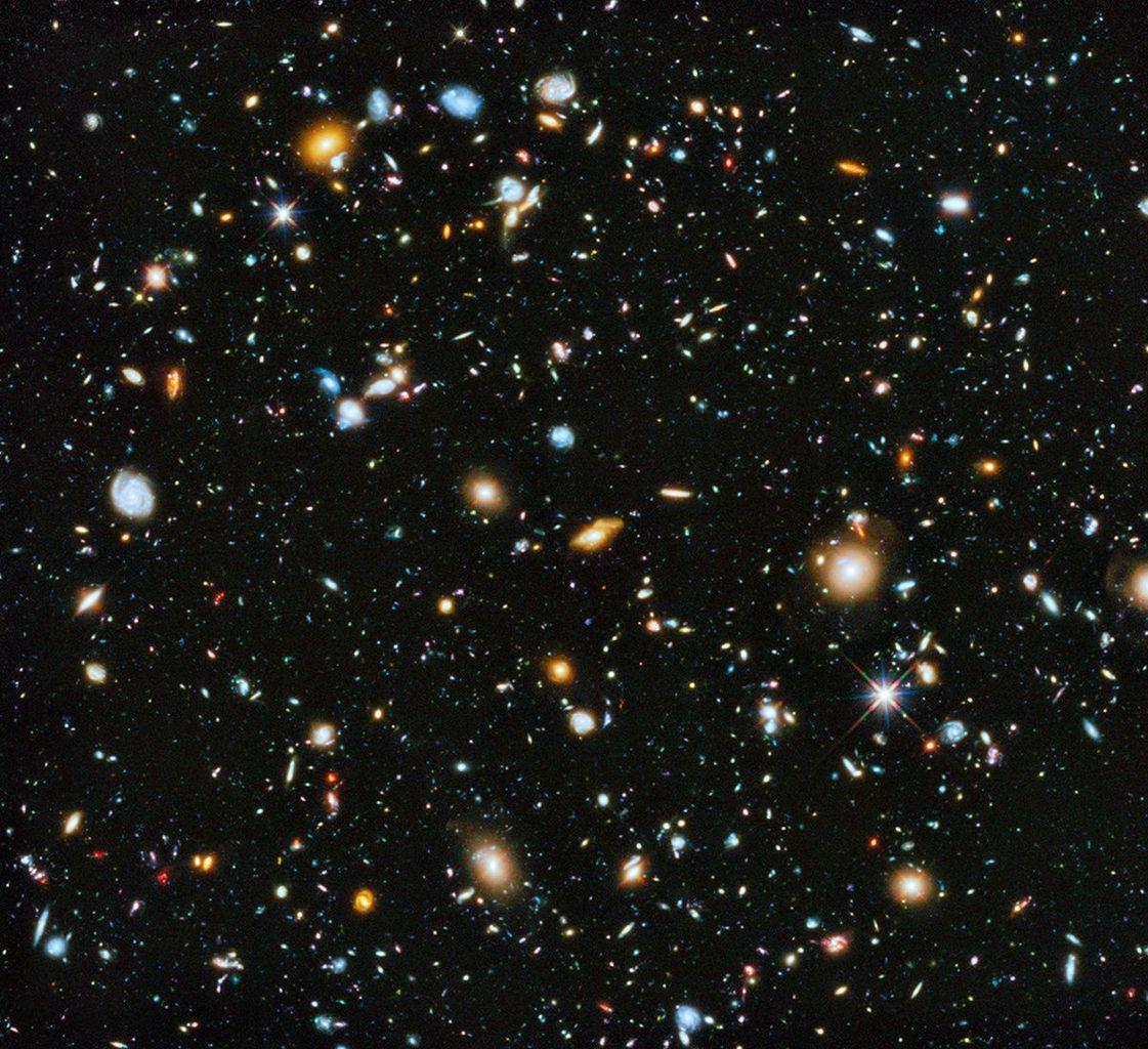 Photo de l'univers (source: futura science)