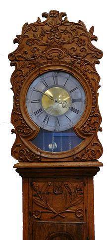 Photo d'une horloge (source; wikimédia)