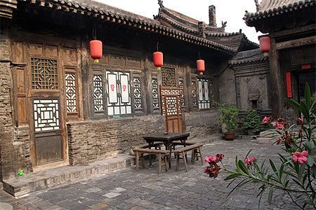 Photo d'une maison traditionnelle chinoise (source: routard)