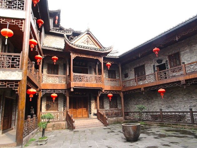 Photo d'une maison traditionnelle chinoise (source: vizeo)