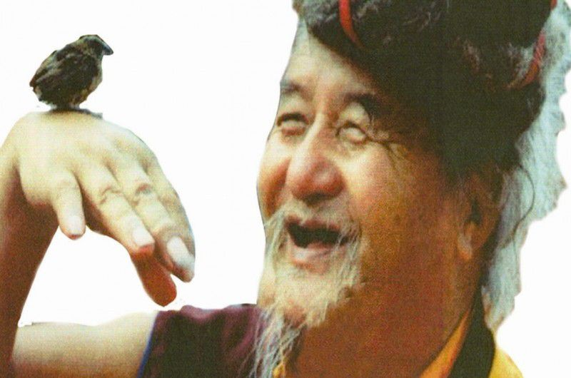 Photo d'un maître tibétain (source: http://padmasambhavagururinpoche.com/wp-content/uploads/2013/10/329346-Yogis-of-Tiber-web.jpg)