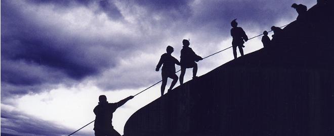 Photo d'une cordée (source: http://sedition-revue.fr/wp-content/uploads/2015/02/cord%C3%A9e.png)