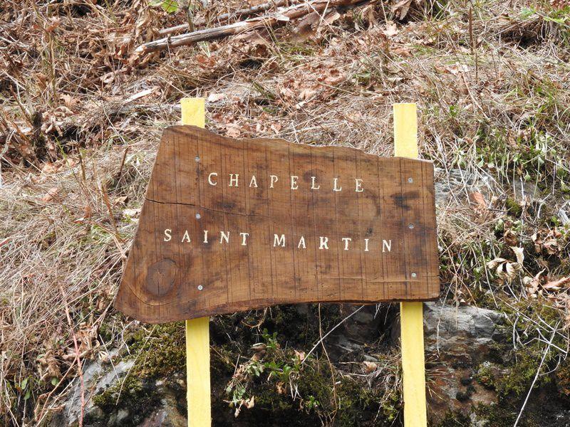 Du nouveau à la chapelle Saint-Martin!