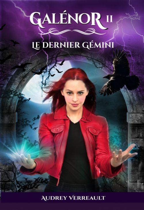 Galénor, tome 2 : Le dernier Gemini de Audrey Verreault (2020)