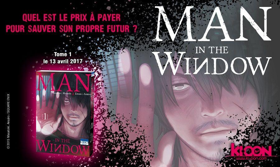 manga Man in the window